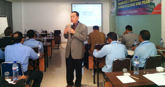 "Workshop ""Business Excellence"" PERPAMSI DPD Banten"